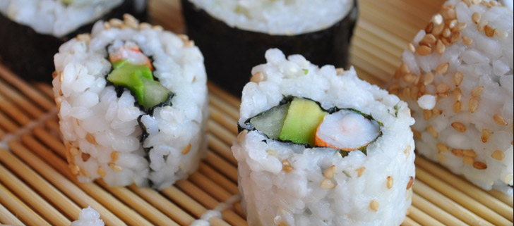 California Roll Recetas De Sushi